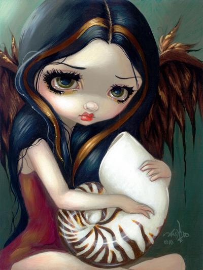 Nautilus Angel-Jasmine Becket-Griffith-Art Print