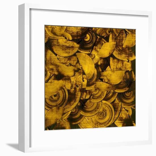 Nautilus in Gold II-Sharon Gordon-Framed Premium Giclee Print