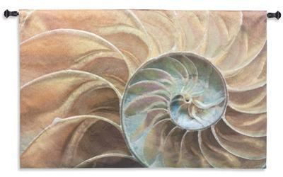 Nautilus Ocean Sand Wall Tapestry - Small