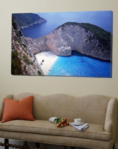 Navagio, Zante, Ionian Islands, Greece-Danielle Gali-Loft Art