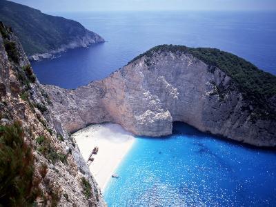 Navagio, Zante, Ionian Islands, Greece-Danielle Gali-Photographic Print