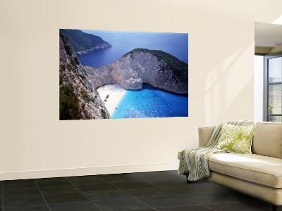 Navagio, Zante, Ionian Islands, Greece-Danielle Gali-Wall Mural
