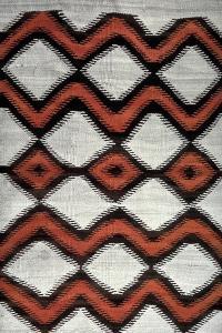 Navajo Blanket, North American Indian, 19th Century