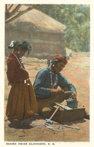 Navajo Silversmith, New Mexico