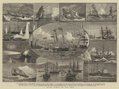 Naval Events of the Year-William Edward Atkins-Giclee Print