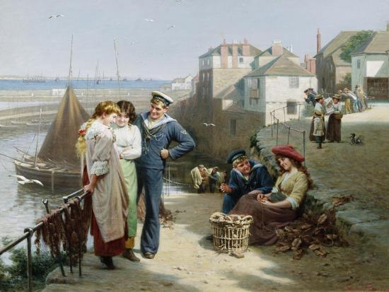 Naval Manoeuvres-Edwin Roberts-Giclee Print