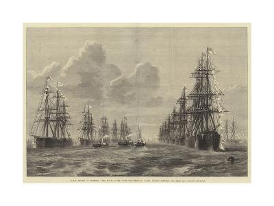 Naval Review at Spithead-R. Dudley-Giclee Print