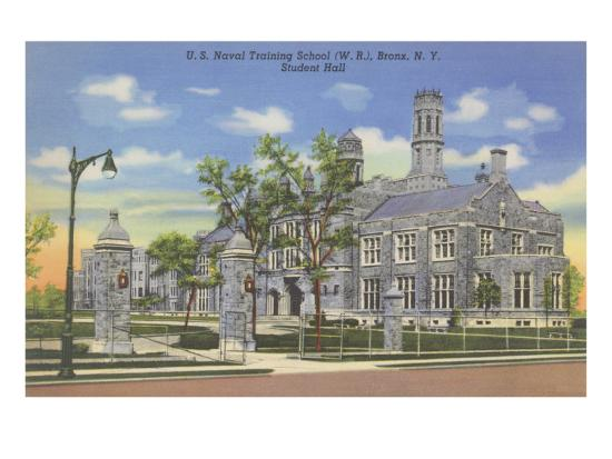 Naval Training School, Bronx, New York--Art Print