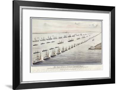 Naval Tribute to Queen Victoria--Framed Giclee Print