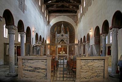 Nave and View to the East--Giclee Print
