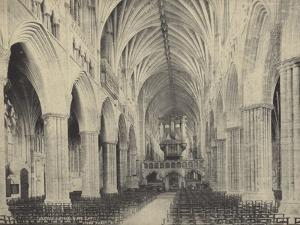 Nave of Exter Cathedral, Devon