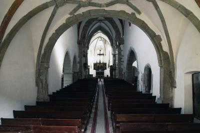 Nave of Prejmer Fortified Church, 15th Century, Late Gothic Style, Romania--Photographic Print