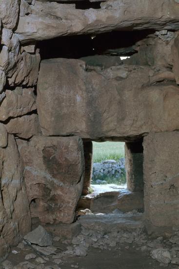 Naveta at Els Tudons, an Interior View, C.2000 Bc-CM Dixon-Photographic Print