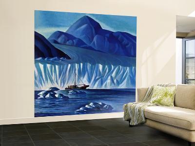 """Navigating Through Icebergs,"" July 19, 1941-Dale Nichols-Wall Mural – Large"
