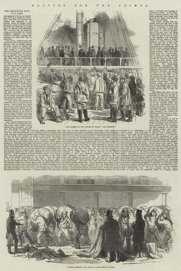 Navvies for the Crimea--Giclee Print
