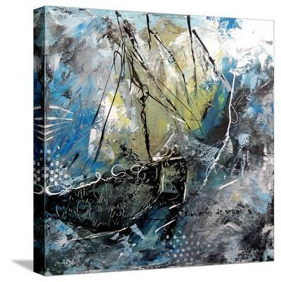 Navy 101-Annie Rodrigue-Stretched Canvas Print