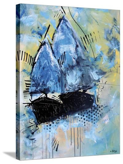 Navy 2832-Annie Rodrigue-Stretched Canvas Print