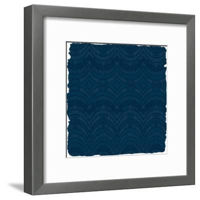 Navy 3-Kimberly Allen-Framed Art Print