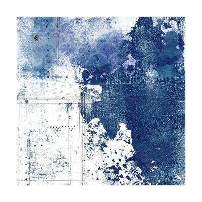 Navy Abstract I-Sarah Ogren-Art Print