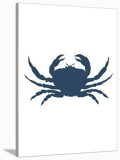 Navy Crab-Jetty Printables-Stretched Canvas Print