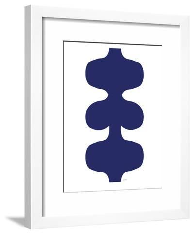 Navy Design, no. 115-Avalisa-Framed Art Print