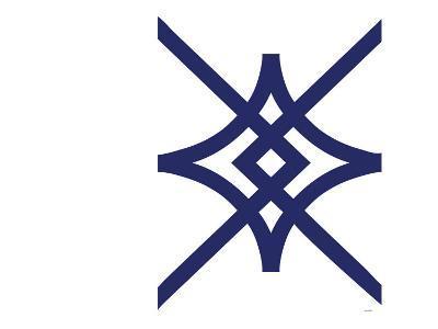 Navy Diamond-Avalisa-Art Print