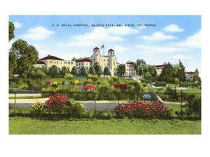 Navy Hospital, Balboa Park, San Diego, California