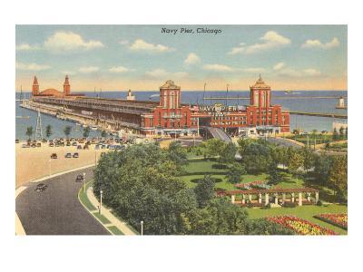 Navy Pier, Chicago, Illinois--Art Print