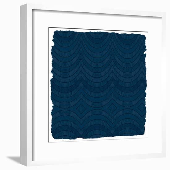 Navy Pink 1-Kimberly Allen-Framed Art Print