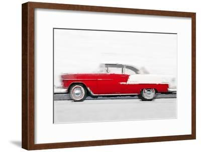 1955 Chevy Bel Air Watercolor
