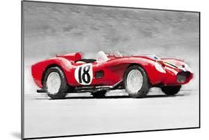 1957 Ferrari Testarossa Watercolor by NaxArt