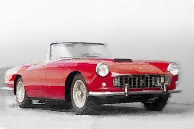 1960 Ferrari 250GT Pinifarina Watercolor