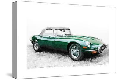1961 Jaguar E-Type Watercolor