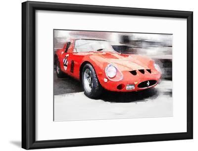 1962 Ferrari 250 GTO Watercolor