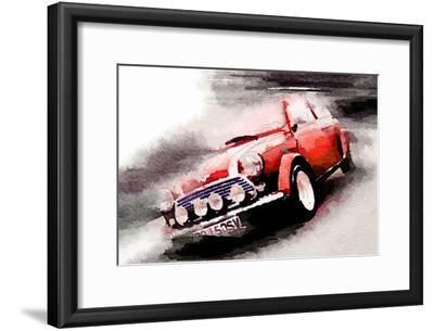 1963 Austin Mini Cooper Watercolor