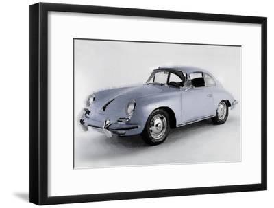1964 Porsche 356B Watercolor
