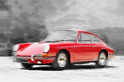 1964 Porsche 911 Watercolor