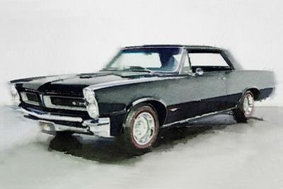 1966 Pontiac GTO Watercolor