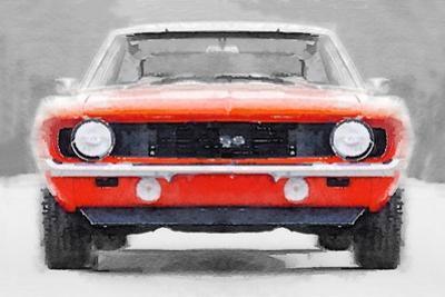 1968 Chevy Camaro SS Watercolor