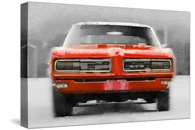 1968 Pontiac GTO Front Watercolor