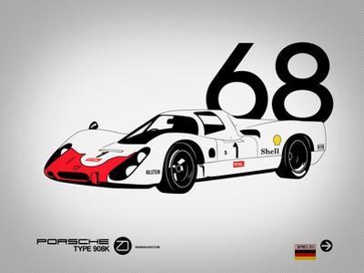 1968 Porsche 908 by NaxArt