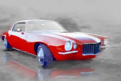 1970 Chevy Camaro Watercolor