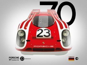 1970 Porsche 917 Kurzheck 4.5L by NaxArt