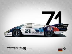 1971 Porsche 917 Martini Rossi by NaxArt
