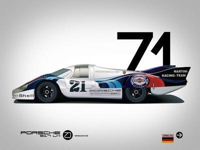 1971 Porsche 917 Martini Rossi