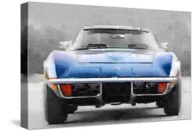 1972 Corvette Front End Watercolor