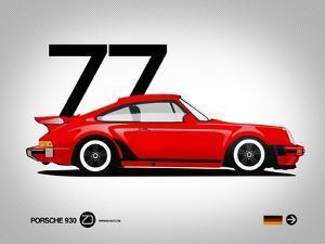 1977 Porsche 930 by NaxArt