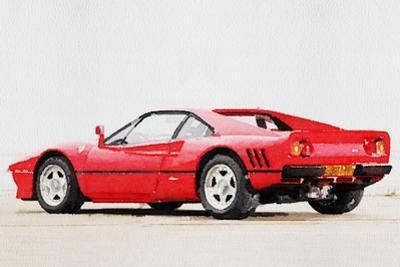 1980 Ferrari 288 GTO Watercolor