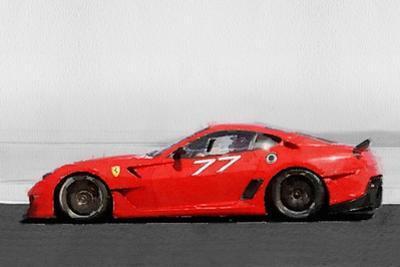 2006 Ferrari 599 GTB Fiorano Watercolor