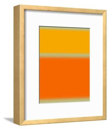 Abstract Orange and Yellow